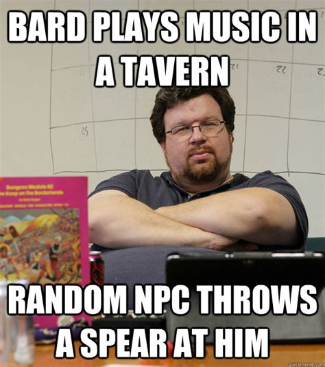 Dungeon Master Memes - dungeon master quotes quotesgram