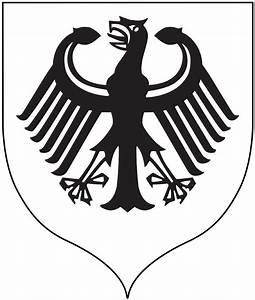German Eagle Black And White