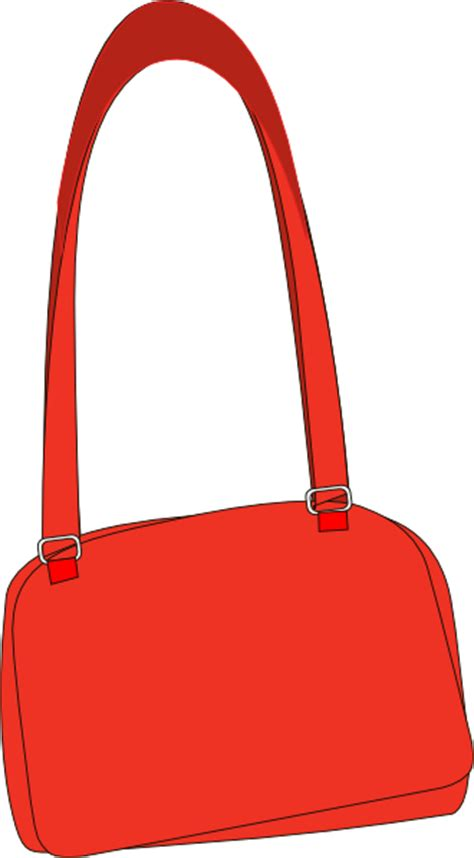 long strap purse clip art  clkercom vector clip art