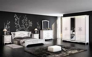Sekretär Weiß Modern : schlafzimmer via weiss creme modern klassisch kaufen bei kapa m bel ~ Orissabook.com Haus und Dekorationen