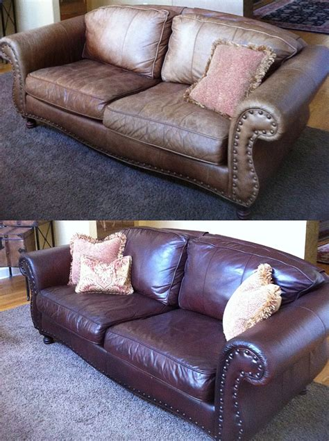 Repair In Leather Sofa by Leather Franchise Services Creative Colors International