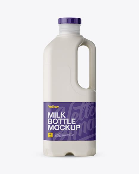 Don't forget to share and push the like button. Gloss Plastic Milk Jug Mockup - Metallic Milk Jug Mockup ...