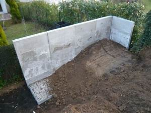 Prix Mur Parpaing Cloture : murs de sout nement en l beton pr fabriqu prix et info ~ Dailycaller-alerts.com Idées de Décoration