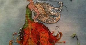 Swarovski Pearls Color Chart Stitching Under The Sea Nora Corbett 39 S Pixie Couture Fairies