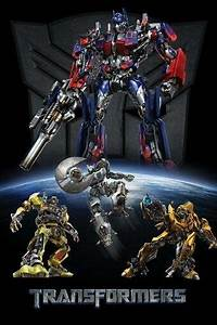 Transformers Movie Poster - Group
