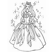 Princess Coloring Page & Book