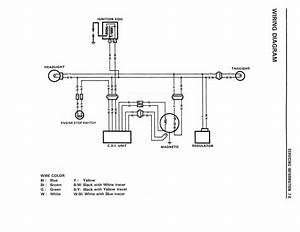 Wiring Diagram For The Dr350  1990 And Later Models