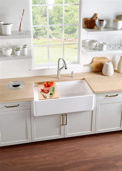 a kitchen sink the nostalgic apron front sink makes a modern comeback 1134