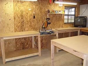 Workbench  Miter Saw Station