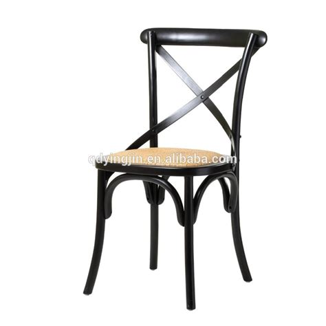 vintage chair wood cross back chair cafe chair for sale