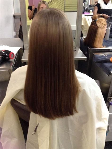 One Hair by 7 Best Hair Cuts One Length Above The Shoulders Images On