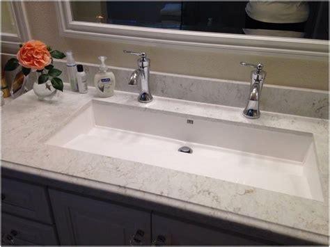 bathroom trough sink undermount elegant master bathroom