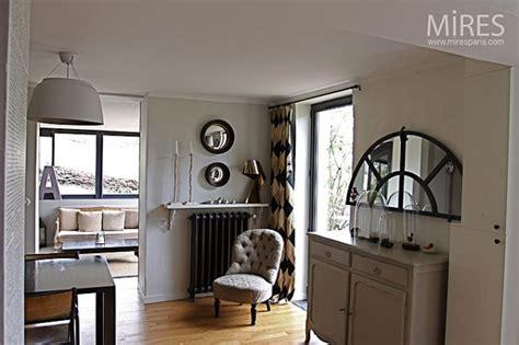 cuisine et jardin décoration maison bourgeoise contemporaine