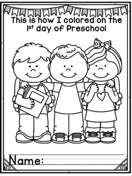 1st 100th and Last Day of School Coloring Pages for