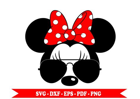 Download icons in all formats or edit them for your designs. Minnie aviator with SVG glasses silhouette clip art in SVG