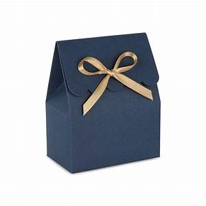 favor boxes gold and blue favour box favour bags blue With gold wedding favor bags