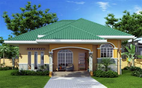 Green Roof Bungalow House Plans with Pictures ? BUNGALOW