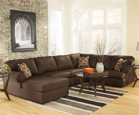 furniture contemporary large sectional sofas  living