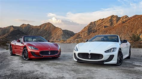 2014 Maserati Grancabrio Mc Wallpaper