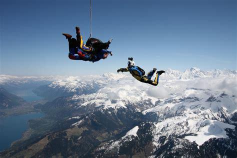 sky diving balmers hostel camping nightclub