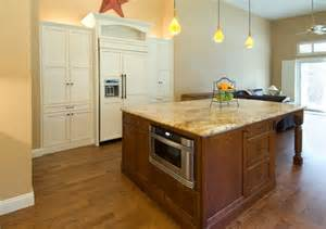 microwave in island in kitchen does anyone regret installing your microwave in your kitchen island and why