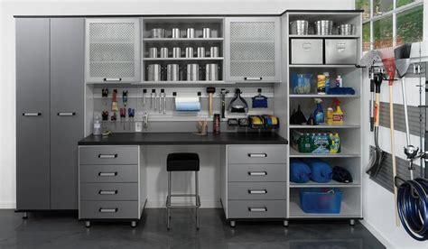 garage work station modern garage organization diy features garage work