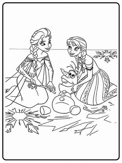 Frozen Colorear Dibujos Animados Infantiles Pintar Imprimir