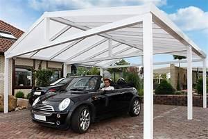 Car Port Alu : carport toit double pente carport aluminium abri de ~ Melissatoandfro.com Idées de Décoration