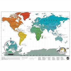 Carte Du Monde à Gratter Maison Du Monde : travel edition scratch map iwoot ~ Teatrodelosmanantiales.com Idées de Décoration