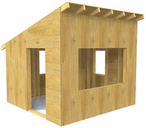 outdoor playhouse plans  kids  downloads pauls playhouses