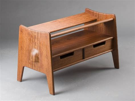 maloof inspired shoe bench instructions  templates