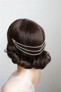 1920s Wedding Headpiece - Downton Abbey Style Bridal ...
