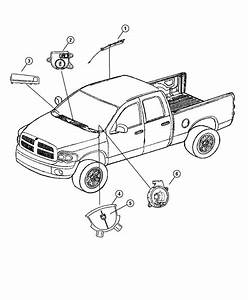 2006 Dodge Ram 1500 Clockspring  Steering Column Control