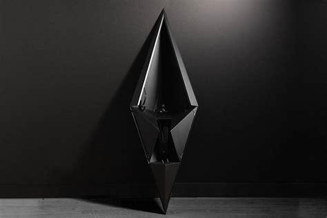 The Black Geometrica Vase
