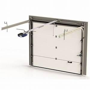 Porte De Garage Sectionnelle Avec Porte : porte de garage sectionnelle pr mont e cassettes ~ Edinachiropracticcenter.com Idées de Décoration