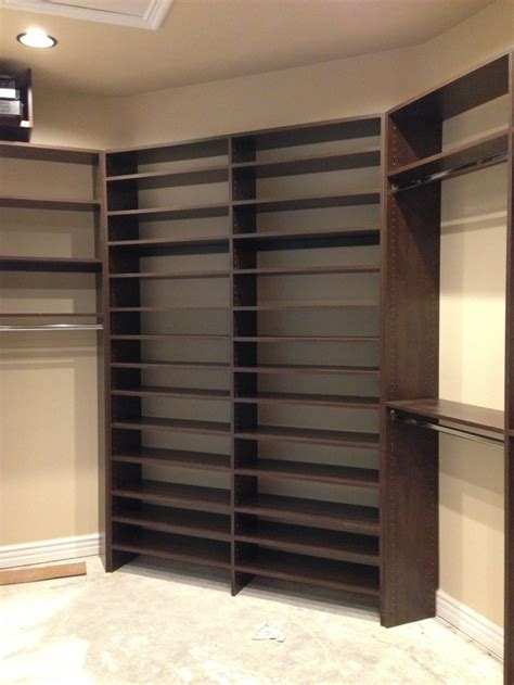 adjustable closet cabinets walk  closets