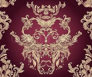 """""""vintage vector background for textile design Wallpaper"""