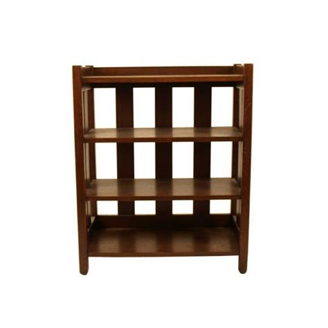 Small Shelf Bookcase by Mission Style Small 4 Shelf Bookcase