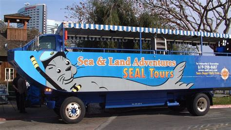Seal Boat San Diego by San Diego Seal Hibious Sightseeing Tour Discounts