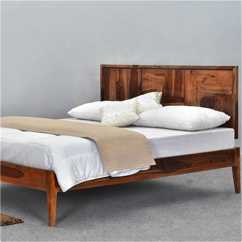 Wooden Bed Platform by Modern Pioneer Solid Wood Platform Bed Frame W