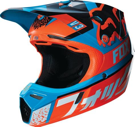 motocross helmet closeout 299 95 fox racing youth v3 divizion mips dot helmet 234840