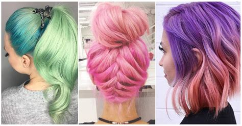 Hair Dye Types by 50 Magical Ways To Style Mermaid Hair For Every Hair Type