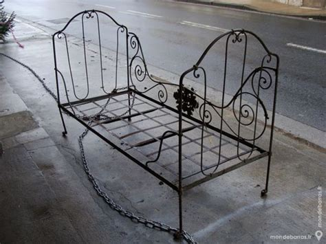 restaurer un canapé d angle achetez ancien lit fer occasion annonce vente à chârost