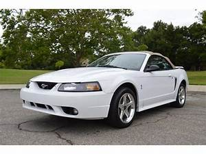 2001 Ford Mustang SVT Cobra Convertible for Sale | ClassicCars.com | CC-991510