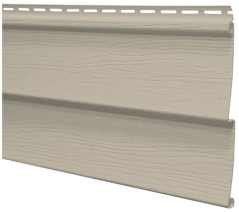 "Harbor Ridge™ Double 4"" Vinyl Siding At Menards®"