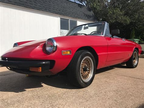Alfa Romeo Spiders For Sale by 1976 Alfa Romeo Spider For Sale