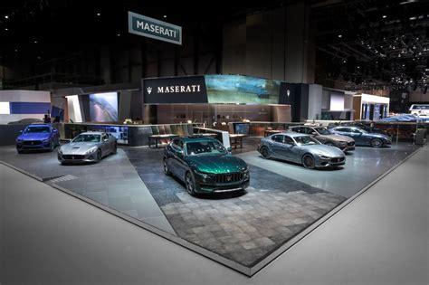 Maserati At The 89th Geneva Motor Show