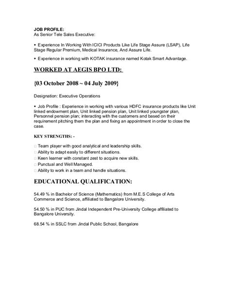 18465 an exle of a resume anju resume