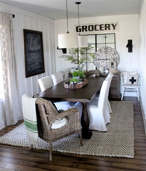 Farmhouse Dining Room Decorating Ideas by 25 Best Ideas About Farmhouse Dining Rooms On