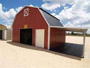 Garage Carport Kombination : red metal carport combo carport and storage metal building car ports pinterest gambrel ~ Sanjose-hotels-ca.com Haus und Dekorationen